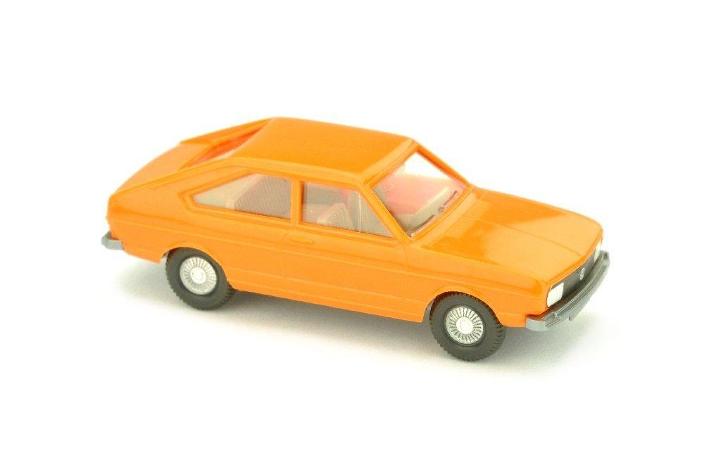 VW Passat, rotorange (VW-Emblem detailliert)