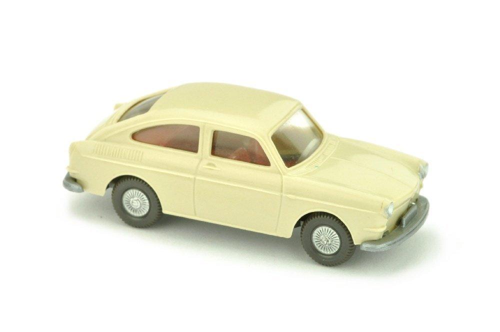 VW 1600 Fliessheck, hellelfenbein