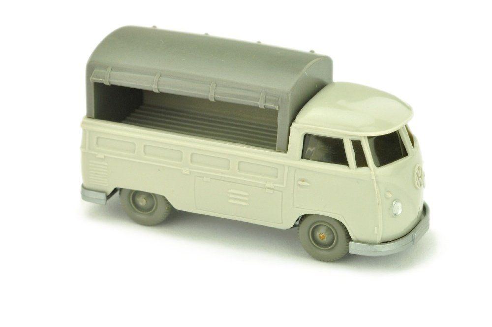 VW T1 Pritsche, achatgrau