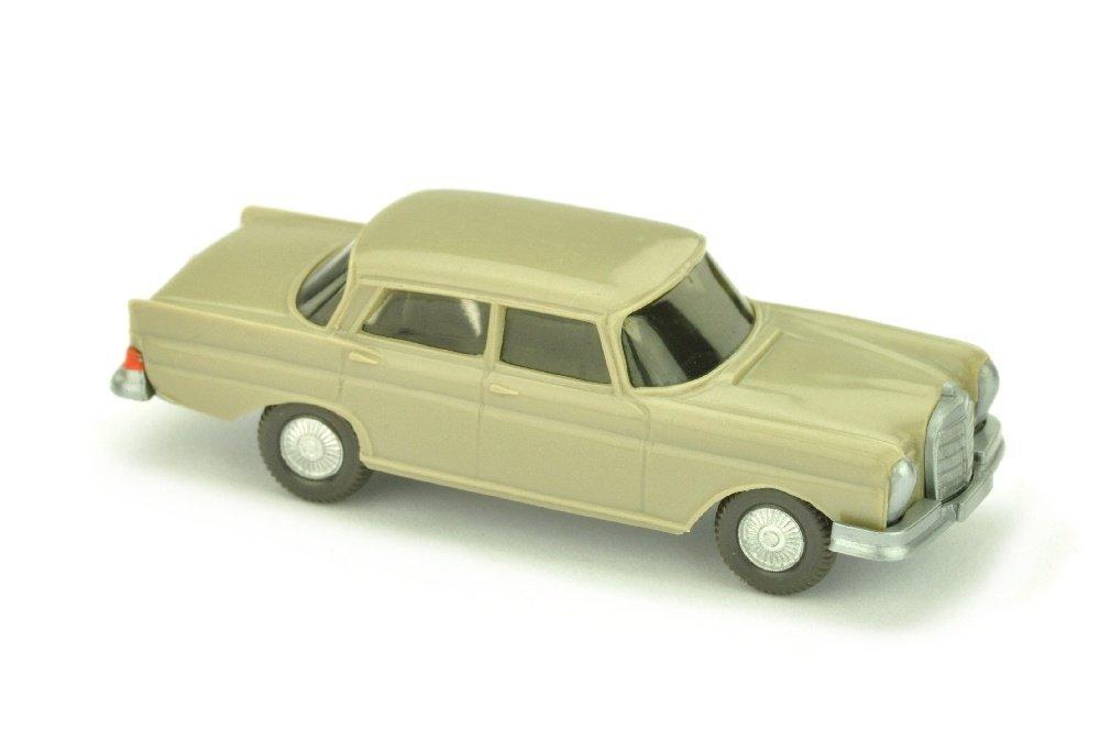 Mercedes 220 Heckflosse, olivgrau