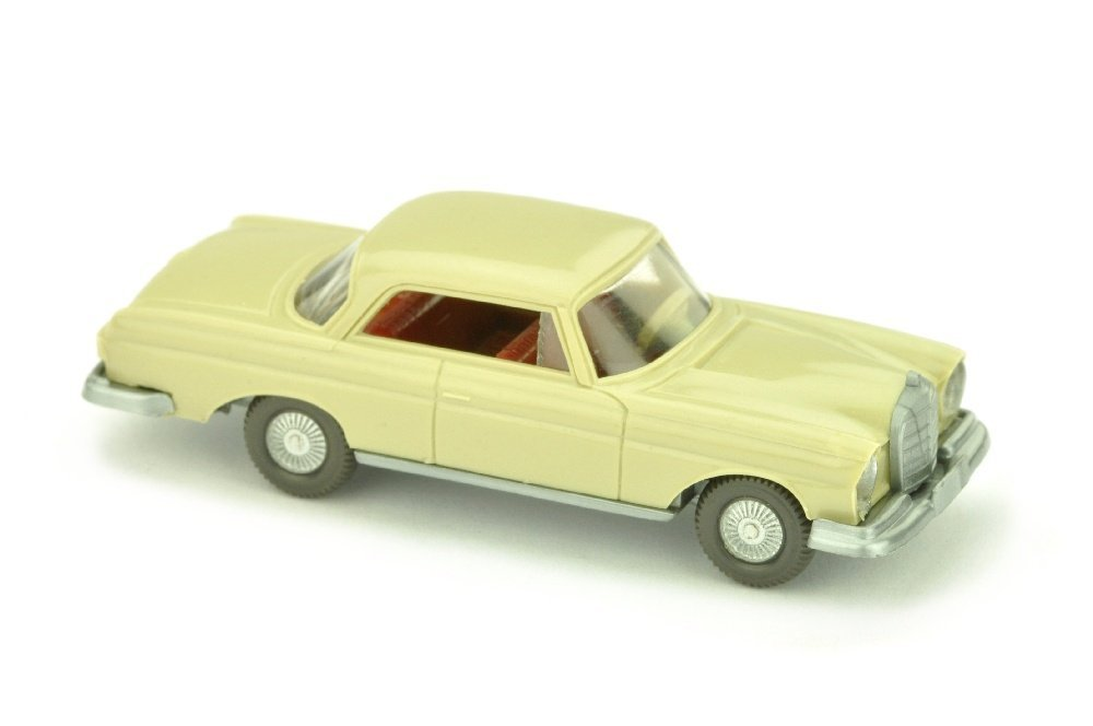 "MB 250 SE Coupe, hellgelbgrau (ohne ""250 SE"")"