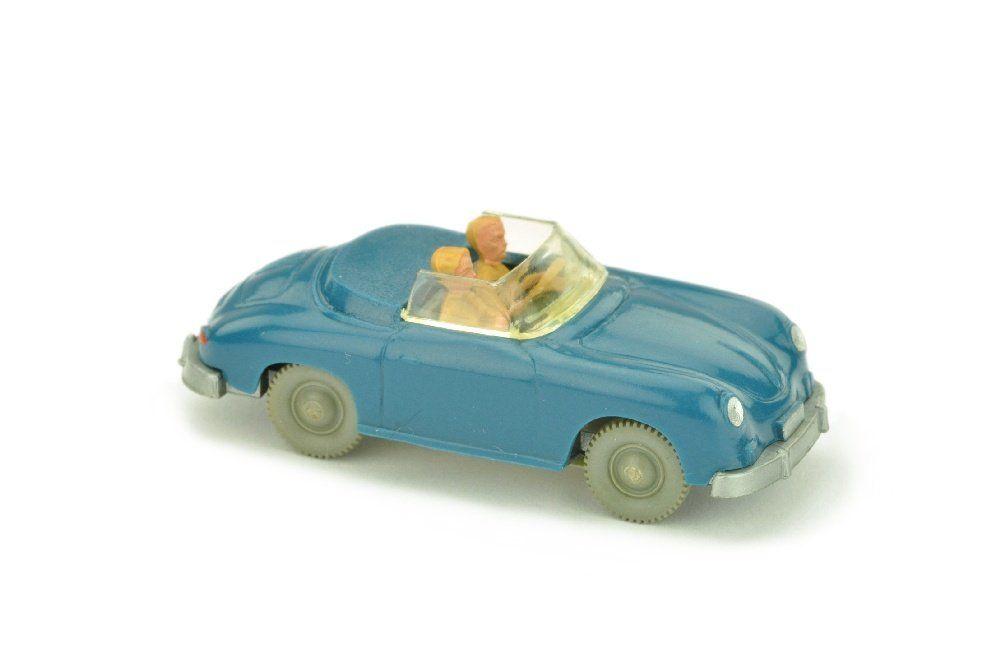 Porsche 356 Cabrio, azurblau (mit OPS)