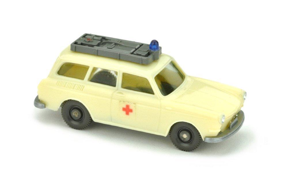 VW Variant Rotkreuz, gelbelfenbein