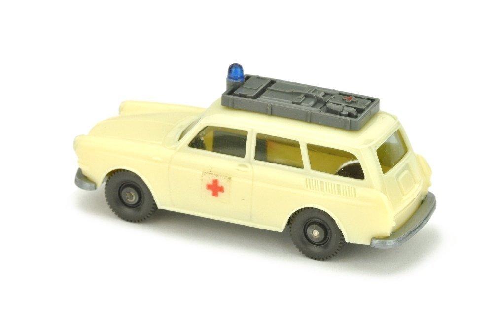 VW Variant Rotkreuz, gelbelfenbein - 2
