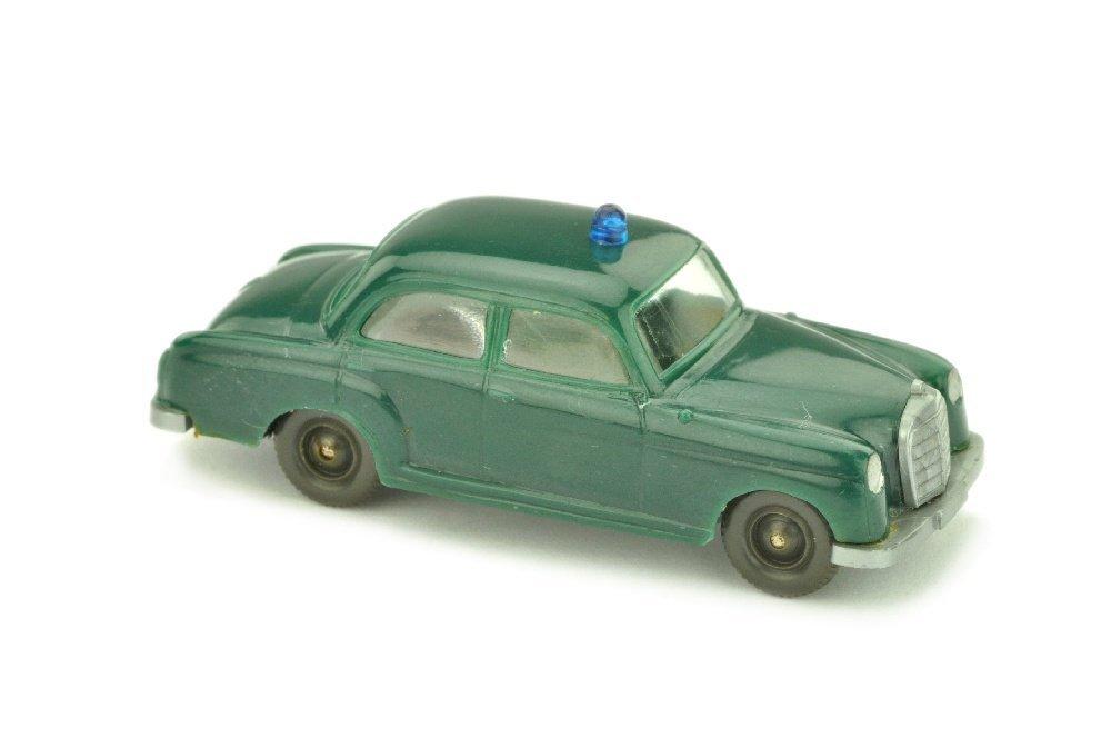 Polizeiwagen Mercedes 180, blaugruen