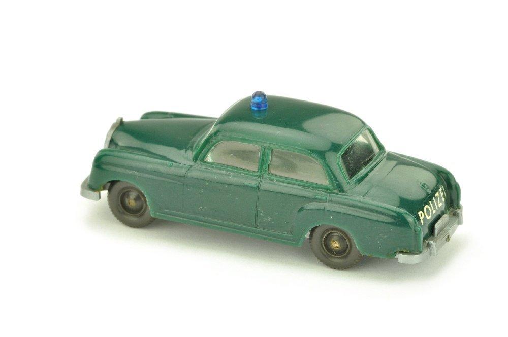 Polizeiwagen Mercedes 180, blaugruen - 2