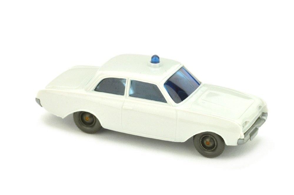 """Polizeiwagen Ford Badewanne, altweiss (BP """"20"""")"""