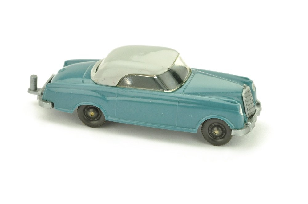 Mercedes 220 Coupe, diamantblau/silbergrau