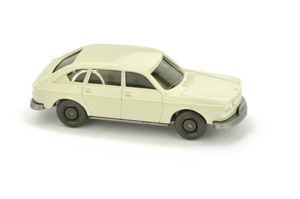 VW 411, perlweiss (Scheinwerfer einteilig)