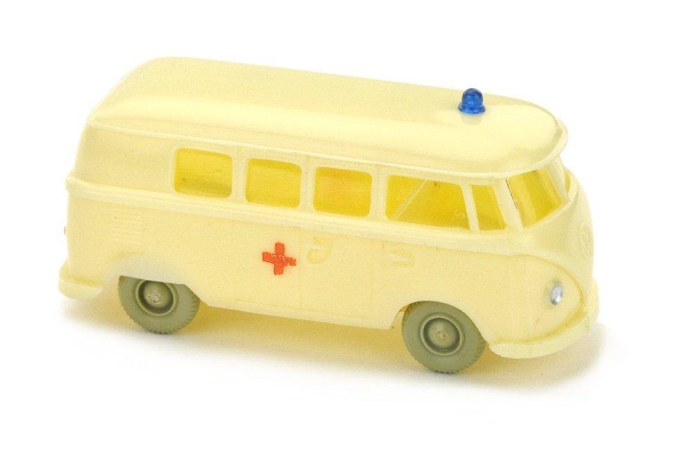 VW T1 Bus Rotkreuz, gelbelfenbein