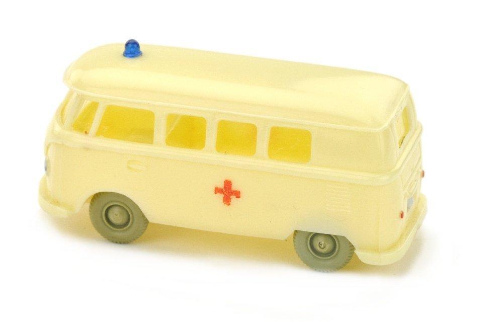 VW T1 Bus Rotkreuz, gelbelfenbein - 2