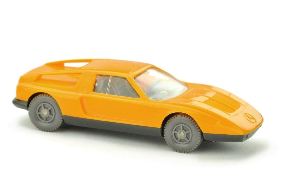 "Mercedes C 111, ""glasiges"" hellorangegelb"