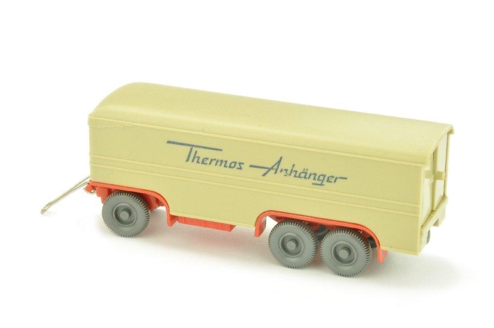 Thermos-Anhaenger, gruenbeige/orangerot - 2