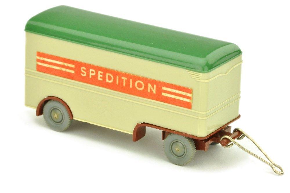 Moebelanhaenger Spedition (Chassis rotbraun)