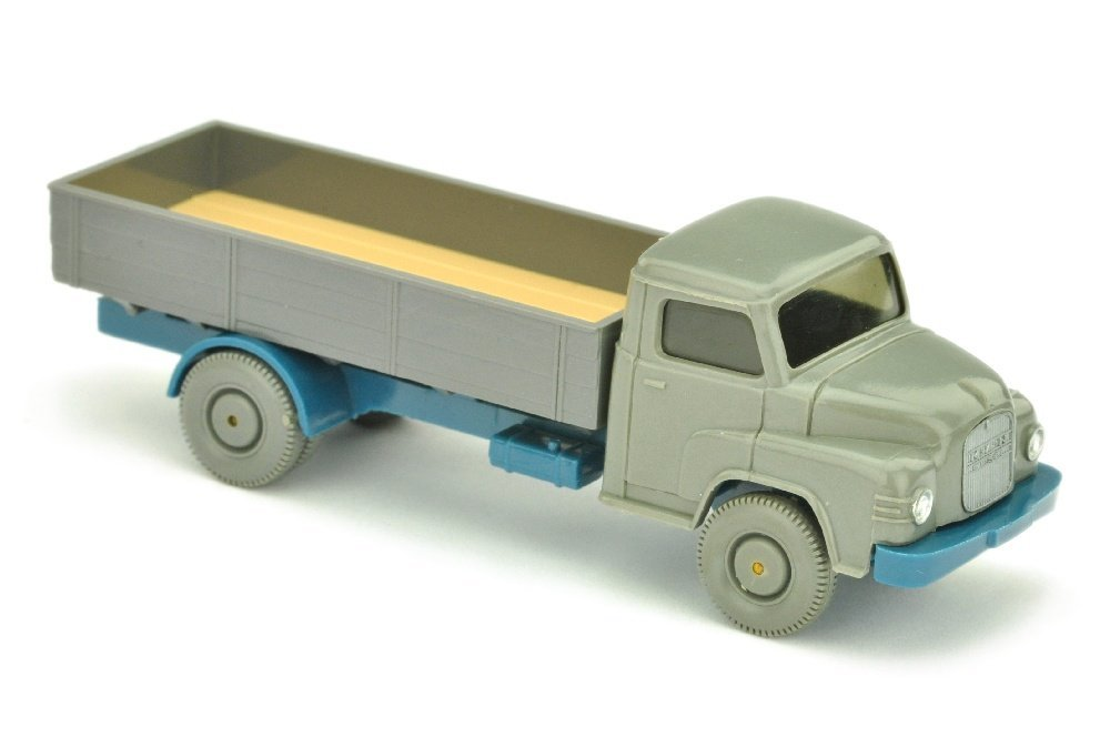 MAN Kurzhauber, betongrau/basaltgrau/azurblau