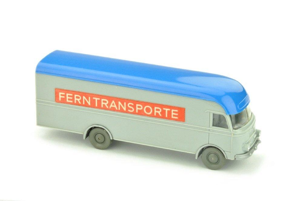 MB 312 Ferntransporte, silbergrau