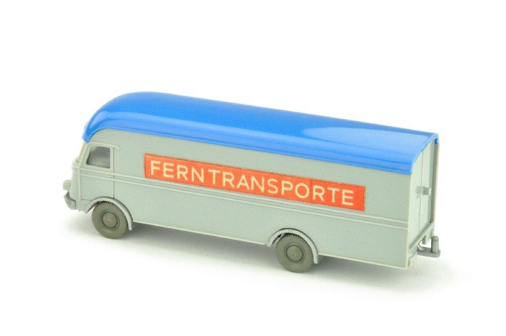 MB 312 Ferntransporte, silbergrau - 2