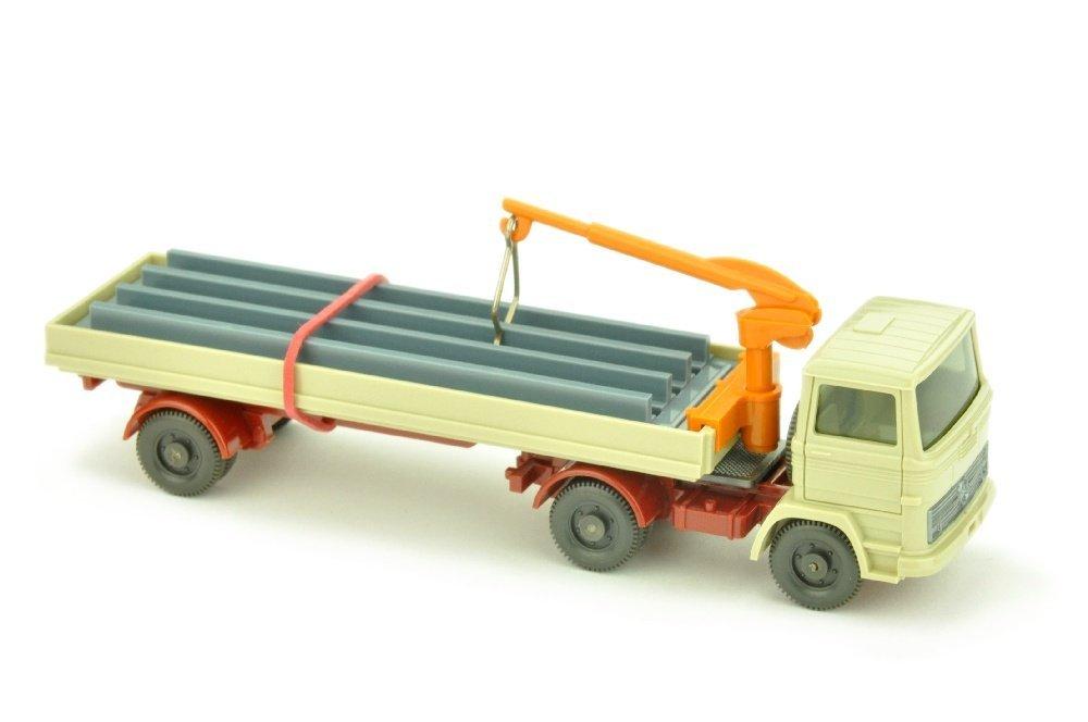 Baustoffwagen MB 1317, weinrot