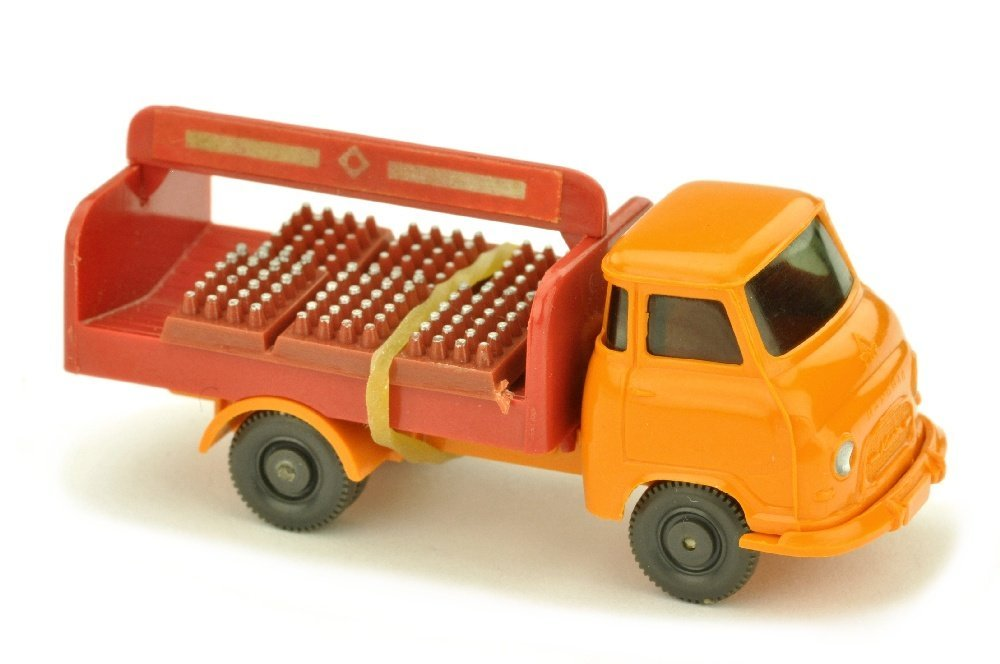 Getraenkewagen Hanomag, gelborange