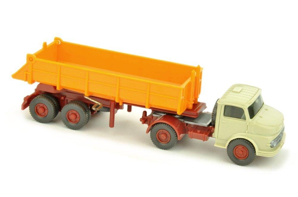 Hinterkipper MB 1413, h'gelbgrau/h'-orangegelb