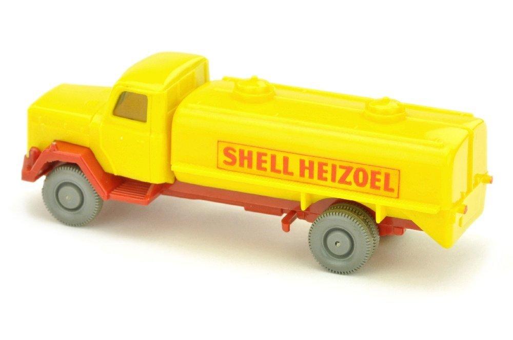 Tankwagen Saturn Shell Heizoel, gelb - 2
