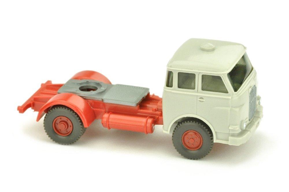 Zugmaschine MAN 10.230, achatgrau/rot