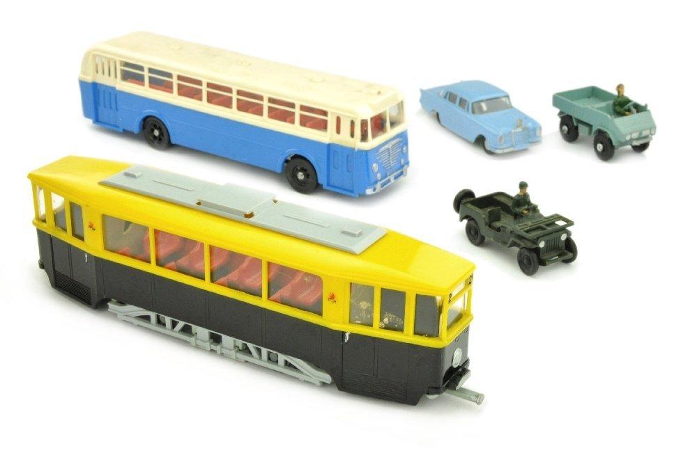 Konvolut 5 Modelle (2.Wahl)