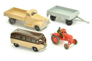 Konvolut 4 Fahrschul-Modelle