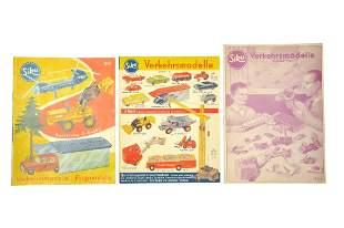 Konvolut 3 Preislisten (1960 bis 1962)