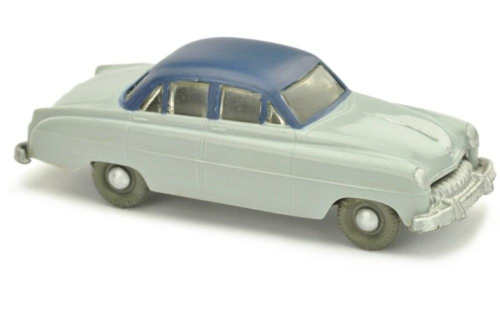 V 8- Opel Kapitaen, silbergrau/blau