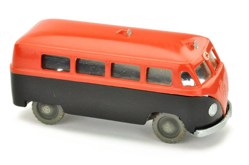 V 14- VW Krankenwagen, verkehrsrot/schwarz