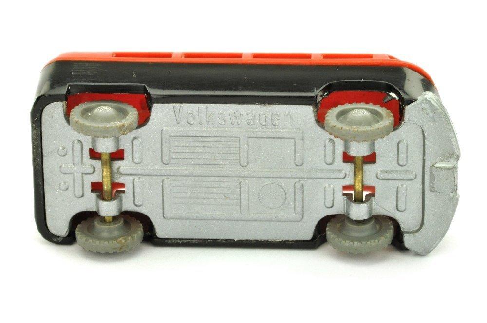 V 14- VW Krankenwagen, verkehrsrot/schwarz - 2