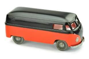 V 17- VW Kasten, schwarz/verkehrsrot (2.Wahl)