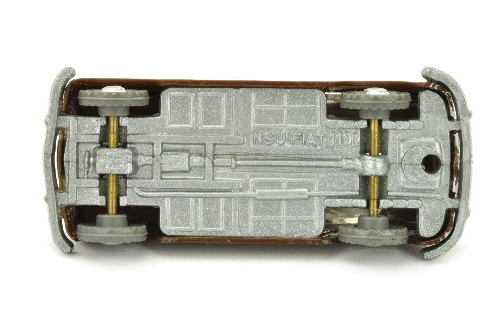 V 34- NSU Fiat 1100, schokoladenbraun - 2