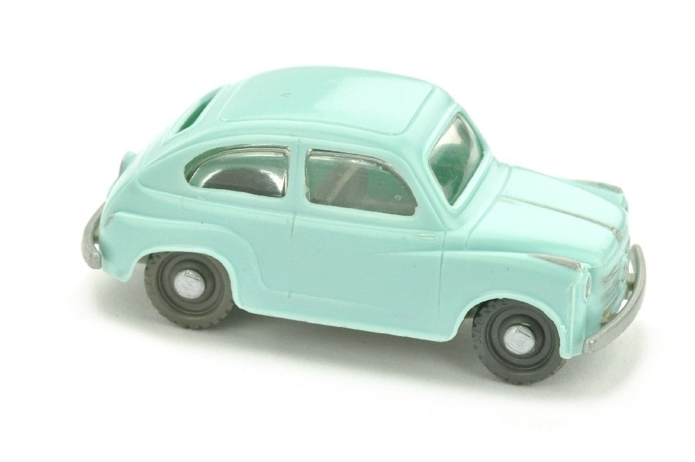 V 49- Fiat 600, waessrigblau