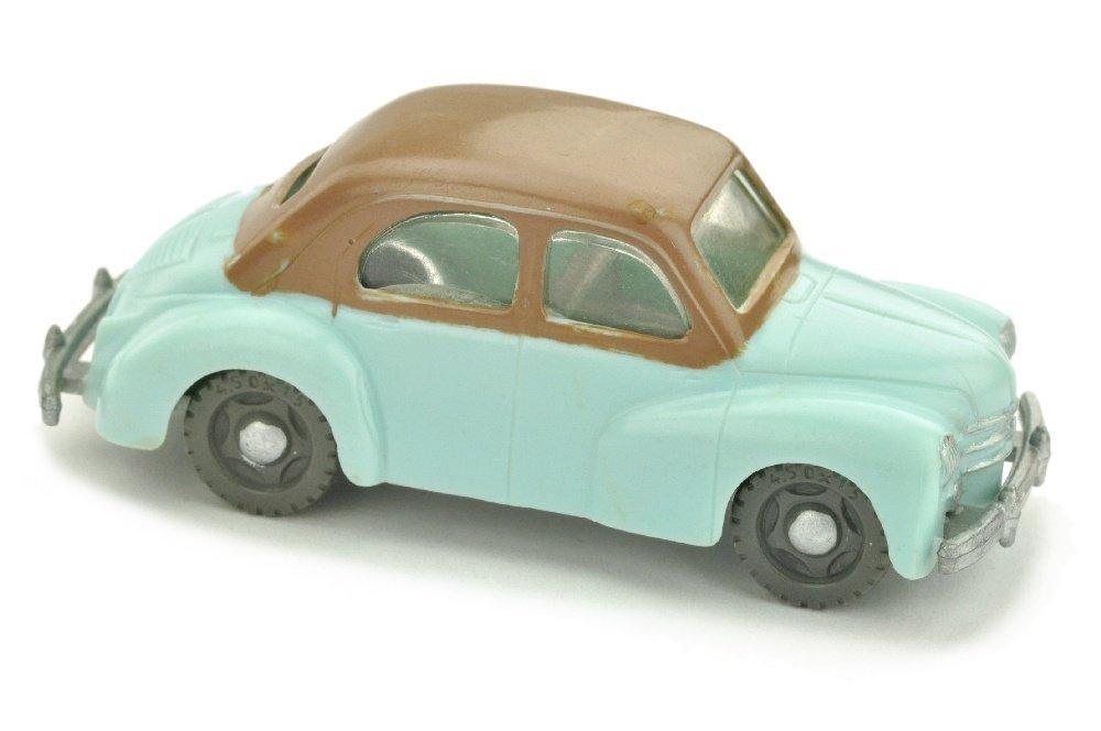 V 50- Renault 4CV, waessrigblau/braun