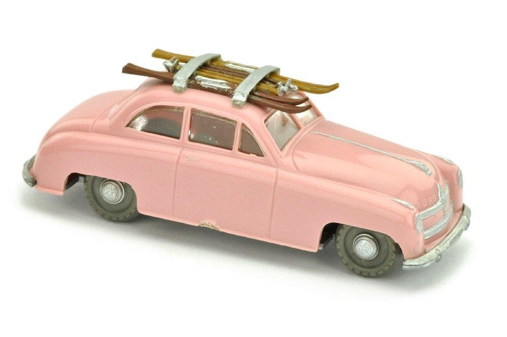 V 66- Borgward 1800 mit Skiern, hellrosa (2.Wahl)