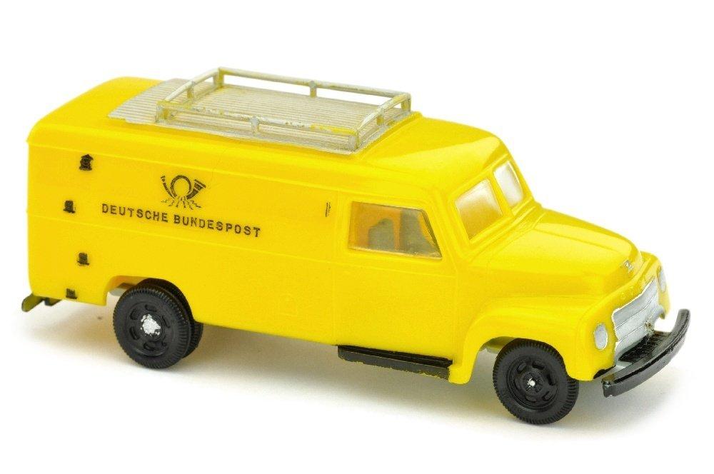 V 70- Postwagen Opel Blitz (Chassis grau)