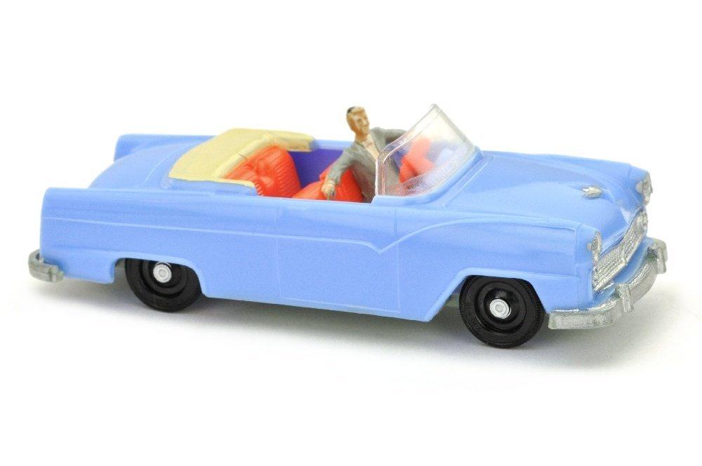 V 77- Ford Fairlane Sunliner, pastellblau
