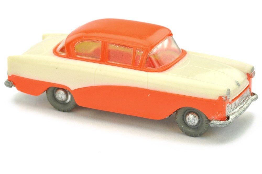 V 83- Opel Rekord 1958, perlweiss