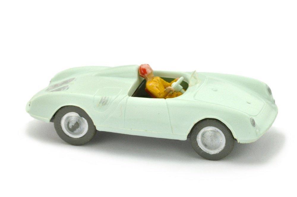 V 87- Porsche Spyder, weissgruen (Fahrer Typ 1)