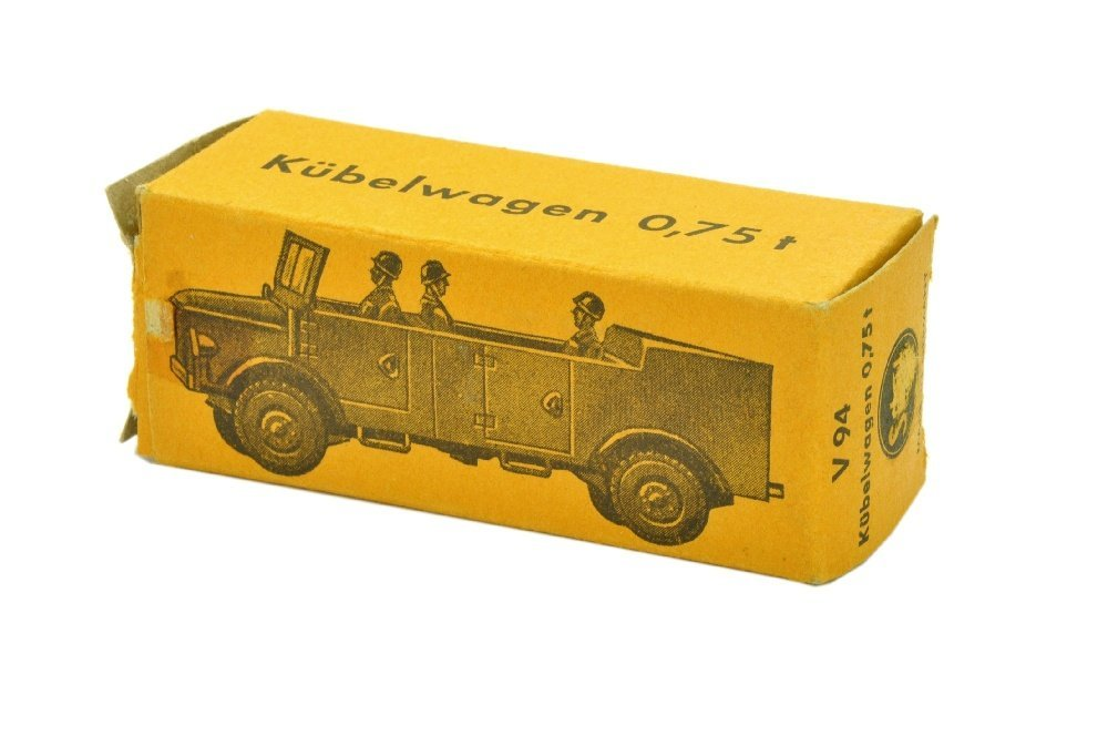 V 94- Kuebelwagen 0,75t Borgward (im Ork) - 3