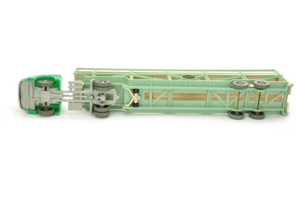 V 100- Autotransporter, blassgruen/rosa (2.Wahl) - 2