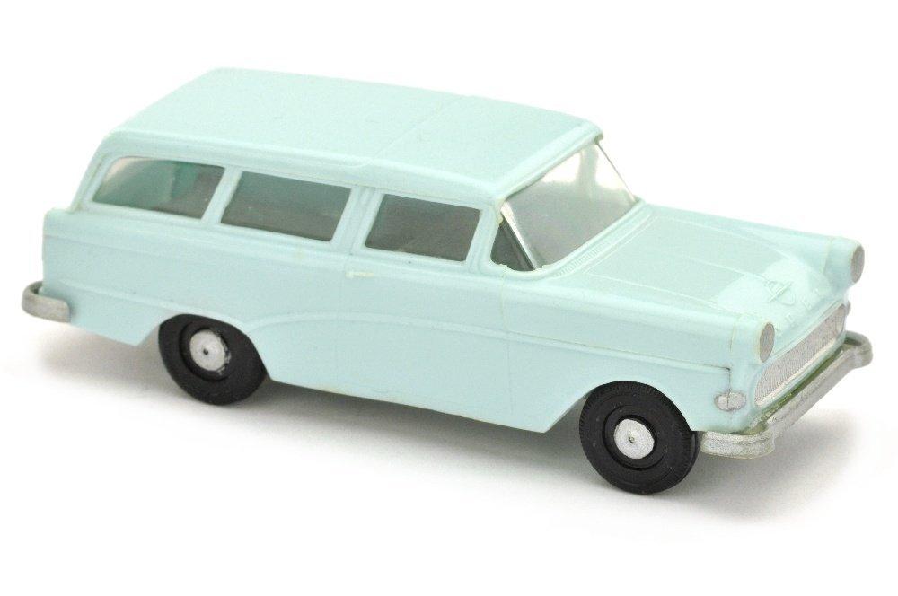 V 147- Opel Caravan 1960, helles pastelltuerkis