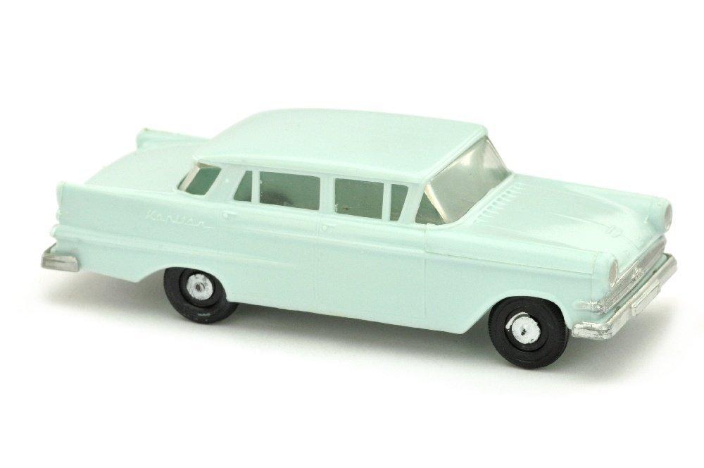 V 148- Opel Kapitaen 1960, helles pastelltuerkis