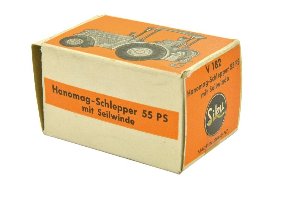 V 182- Hanomag Schlepper, gelborange (im Ork) - 3