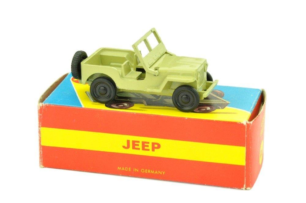 SIKU - (V228) Jeep, gruenbeige (im Flitzer-Ork)