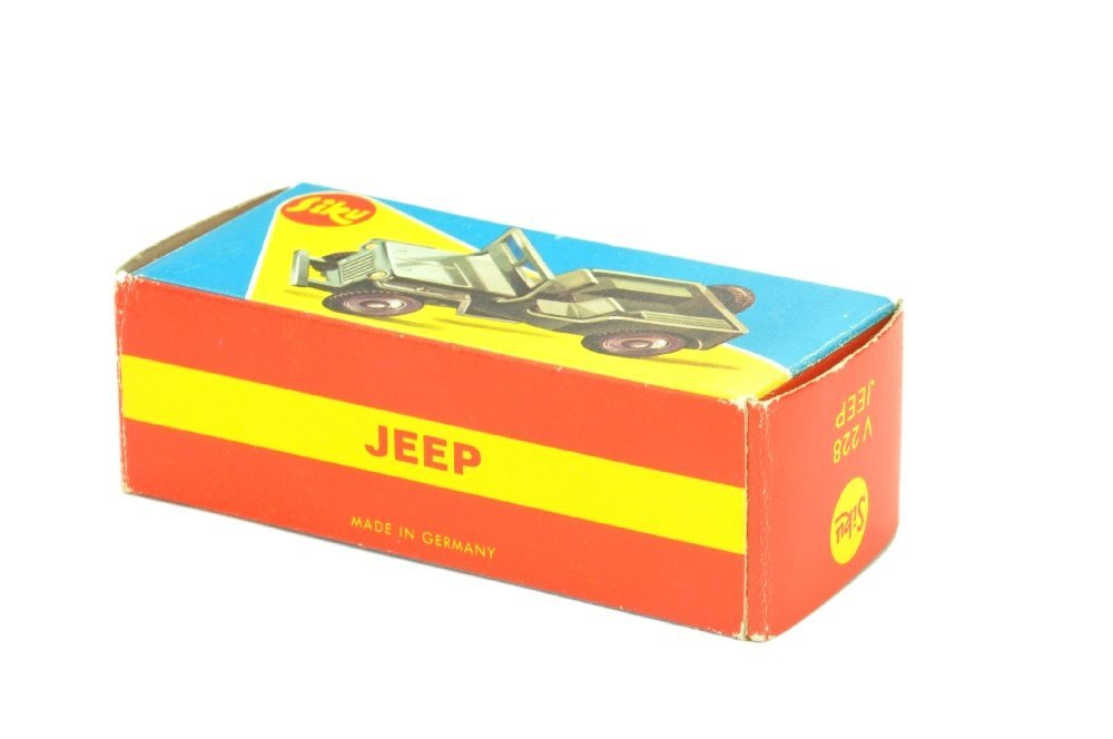 SIKU - (V228) Jeep, gruenbeige (im Flitzer-Ork) - 2