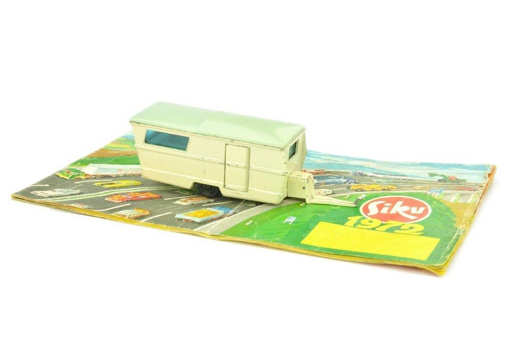 SIKU - Konvolut Preisliste 1972 und Wohnwagen