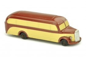 Maerklin - Omnibus Mercedes, weinrot/beige